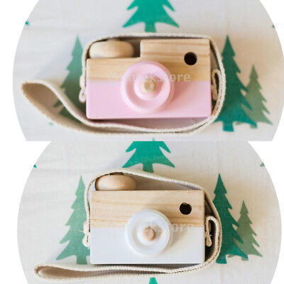 Kids Learning Study Toy Wood Camera Educational Toy Children Boy Girl Room Decor