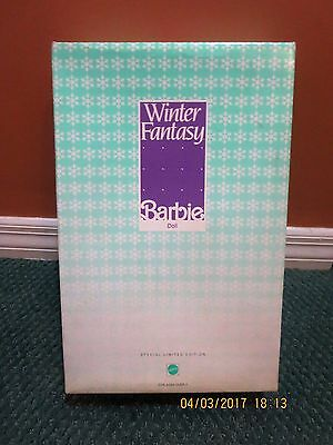 Barbie #5946 Special Limited Edition Winter Fantasy for FAO Schwarz 5th Avenue
