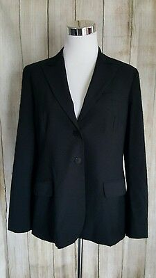 A Pea in the Pod Size S Blazer Jacket Maternity Classic Black Lined