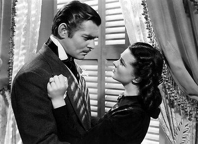 """005 Gone With The Wind - William Gable Classic USA Movie 19""""x14"""" Poster"""
