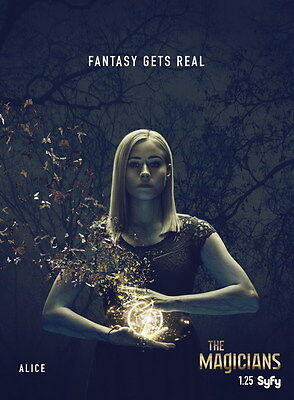 "020 The Magicians - Season 1 2 Fantasy Horror TV Show 24""x32"" Poster"
