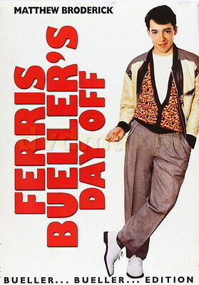 "013 Ferris Bueller Day Off - Matthew Broderick Classic USA Movie 24""x34"" Poster"