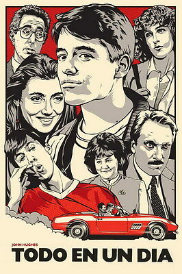 "010 Ferris Bueller Day Off - Matthew Broderick Classic USA Movie 24""x36"" Poster"
