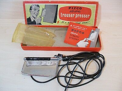 Vintage Trouser Press - Pifco Made In England - Original Box/booklet & Sleeve