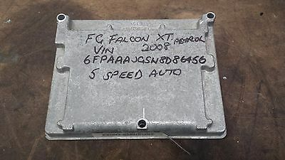 Ford Fg Falcon Xt 2008 Mdl 6 Cyl 5 Speed Auto Ecu  82Cb