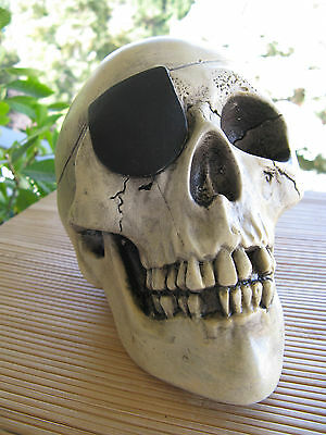 "Vintage Randotti ""pirate Skull"" # 844 Still Glows In The Dark"