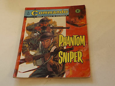 Commando War Comic Number 324!,1968 Issue,good For Age,49 Years Old,very Rare