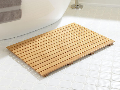 Bamboo Bath Duck Board,Shower Mat,Bathroom Mat
