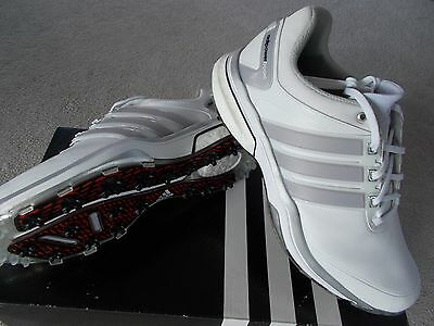 Mens Adidas Golf Shoes Trainer Style Adipower Boost Wd Wide Uk 10 1/2 Eu 45 1/3