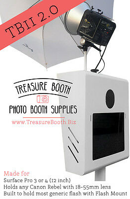 Treasure Booth's Portable, Light Weight, Durable, Reliable, TB11 2.0 Photo Booth