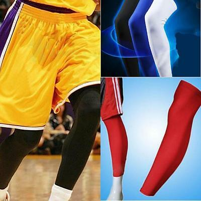 1PC Cooling Sports Cover Leg Knee Protector Gear Basketball Football Long Sleeve