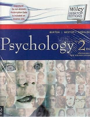 Psychology: Australian and New Zealand Edition 2E + Ebook + Study Guide +...