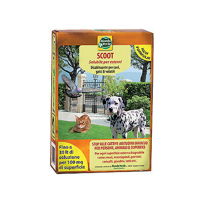 Disabituante Repellente Nuovo Scoot Per Cani Gatti Animali Domestici 150Gr