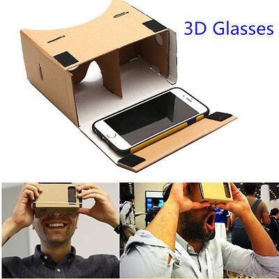 Cardboard 3D VR Virtual Reality Movie Games VR Box for google android Iphone