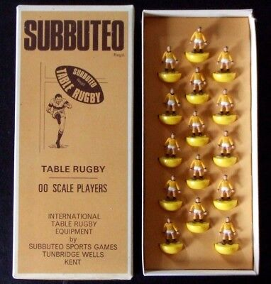 Subbuteo Rugby # R11 CASTLEFORD Vintage Team 1970's Complete near mint