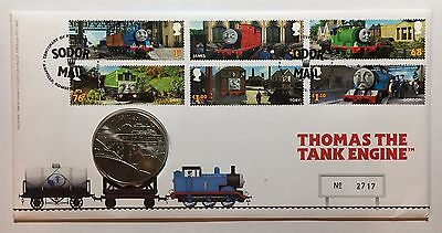 2011 Thomas the Tank Engine Cover and Medallion