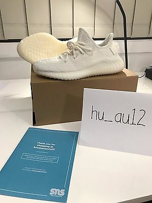 Adidas Yeezy Boost V2 Cream White Us7 New Ds With Receipt
