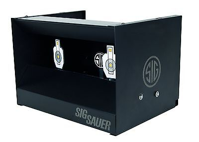 Sig Sauer Dual Shooting Gallery parapalle a cassetta, Nero, na (T8D)