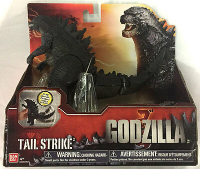 Tail Strike Godzilla Action Figure from the 2014 movie Bandai New