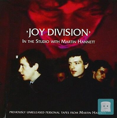 CD IN THE STUDIO WITH MARTIN HANNETT - JOY DIVISION - INNERSTATE (Nuovo)