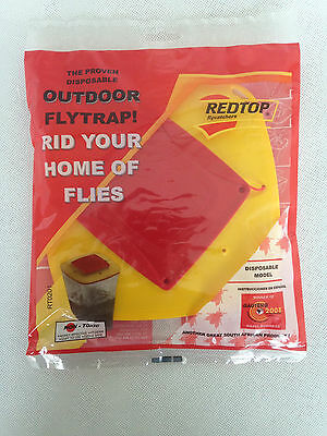 Red Top Fly Traps * Genuine * Mulitpacks available * The Original Fly Trap*