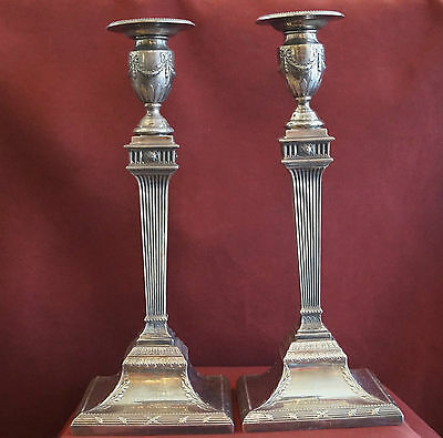 Pair of Howard & Co. Sterling Silver Candlesticks circa 1900