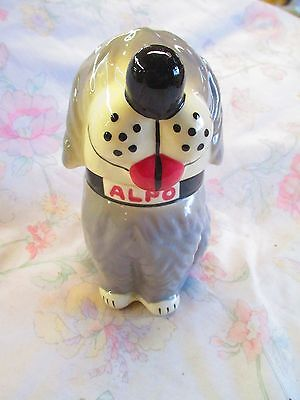 Alpo dog treat jar