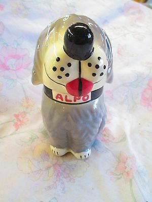 Iconic Dan the Dog pottery jar from Alpo dog treats