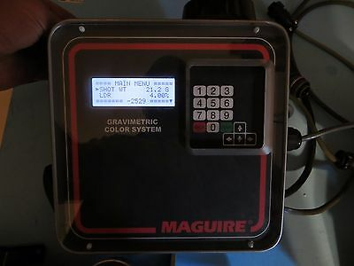 Maguire Gravimetric Feeder MGF-4-41 controller load cells injection/extrusion