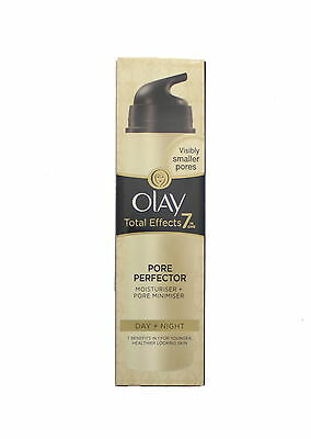 Olay Total Effects 7 In One Pore Perfector Day & Night Moisturiser Cream 50ml