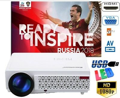 Proyector wifi+Android MINI +3D gafas Home Cinema Projector 1500 lm cine en casa