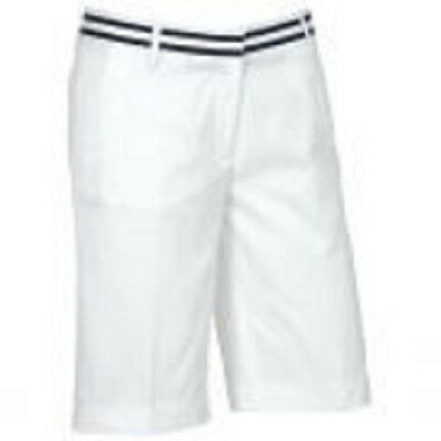 TOMMY HILFIGER Womens White  Bermuda Golf Shorts Small [8]