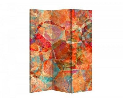 Double Sided Canvas Dressing Screen Room Divider 03318 All Sizes