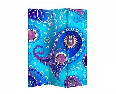 Double Sided Canvas Dressing Screen Room Divider 03393 All Sizes