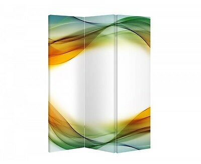 Double Sided Canvas Dressing Screen Room Divider 03535 All Sizes