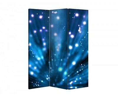 Double Sided Canvas Dressing Screen Room Divider 03546 All Sizes