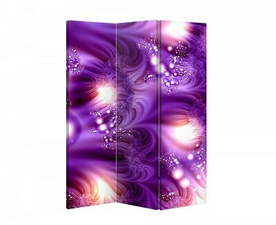 Double Sided Canvas Dressing Screen Room Divider 03608 All Sizes