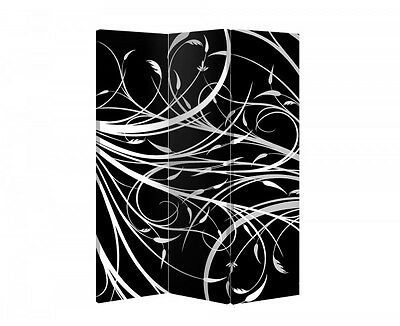 Double Sided Canvas Dressing Screen Room Divider 03685 All Sizes