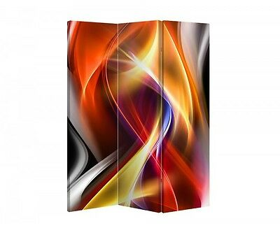 Double Sided Canvas Dressing Screen Room Divider 04161 All Sizes