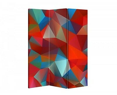 Double Sided Canvas Dressing Screen Room Divider 04633 All Sizes