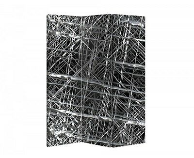 Double Sided Canvas Dressing Screen Room Divider 03635 All Sizes