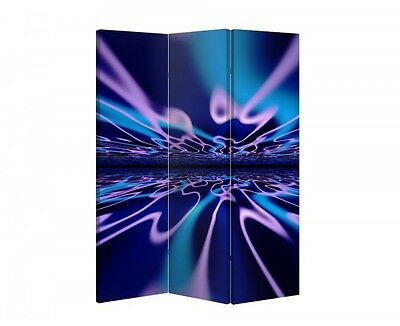 Double Sided Canvas Dressing Screen Room Divider 04474 All Sizes