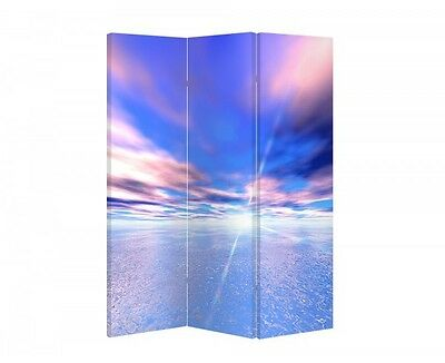 Double Sided Canvas Dressing Screen Room Divider 04475 All Sizes