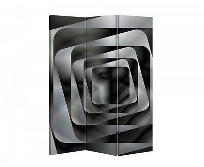 Double Sided Canvas Dressing Screen Room Divider 04709 All Sizes