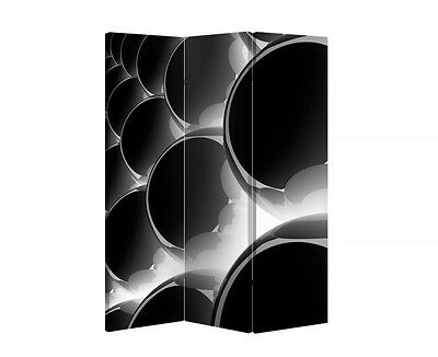 Double Sided Canvas Dressing Screen Room Divider 05162 All Sizes