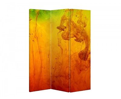 Double Sided Canvas Dressing Screen Room Divider 05393 All Sizes