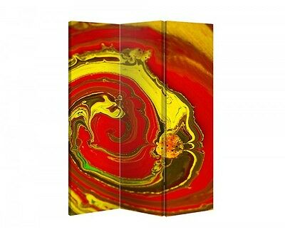 Double Sided Canvas Dressing Screen Room Divider 05565 All Sizes