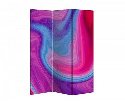 Double Sided Canvas Dressing Screen Room Divider 05589 All Sizes