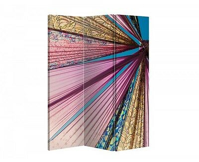 Double Sided Canvas Dressing Screen Room Divider 09474 All Sizes