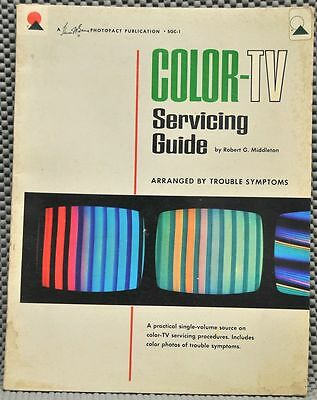 Color-TV Servicing Guide SAMS SGC-1 1965 1st Ed. 1st Printing Very scarce